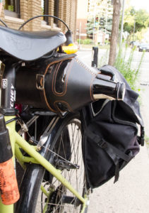 Surly Long Haul Trucker with under-saddle growler holder
